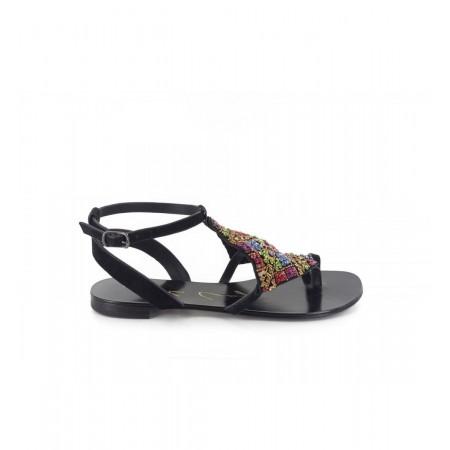 Sandales Plates-Lola Cruz