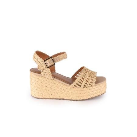 Sandales compensées-Bibi Lou