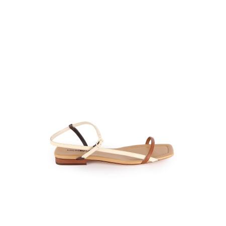 Sandales Plates Brune Lola...