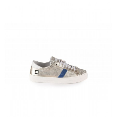 Sneakers GLITTER PLATINIUM-D.A.T.E.